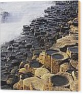 Giants Causeway, Co Antrim, Ireland Wood Print