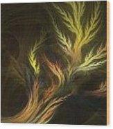 Grass Wood Print