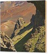 Haleakala National Park Wood Print