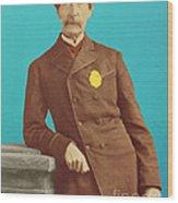 Henry Bergh, American Founder Of Aspca Wood Print