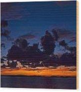 Islamorada Sunset Wood Print