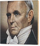 James Buchanan (1791-1868) Wood Print