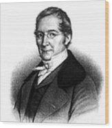 Joseph Gay-lussac, French Chemist Wood Print