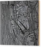Kintu And Nambi Wood Print