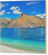 Lake Wakatipu Wood Print