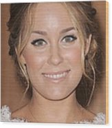 Lauren Conrad At In-store Appearance Wood Print by Everett