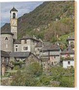 Lavertezzo - Ticino Wood Print