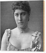 Lillie Langtry (1852-1929) Wood Print
