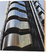 Lloyds Building Central London  Wood Print