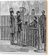 Ludlow Street Jail, 1868 Wood Print