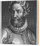 Luiz Vaz De Camoes (1524-1580) Wood Print