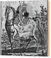 Marquise De Pompadour Wood Print