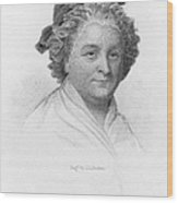 Martha Washington Wood Print