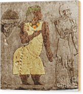Muscular Dystrophy, Ancient Egypt Wood Print