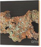 Native Copper Wood Print