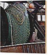 Nets Wood Print