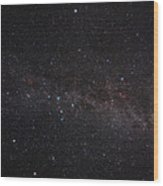 North Celestial Pole Wood Print by Eckhard Slawik