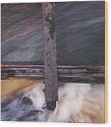 Old Mill Canal Wood Print