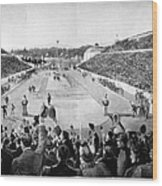 Olympic Games, 1896 Wood Print