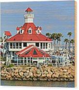 Parker's Lighthouse Restaurant Wood Print