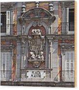 Plaza Mayor Wood Print