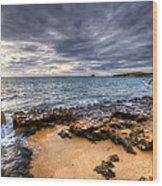 Point Peron Wa Wood Print by Imagevixen Photography
