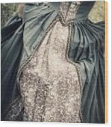 Renaissance Princess Wood Print by Joana Kruse