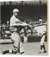 Rogers Hornsby (1896-1963) Wood Print