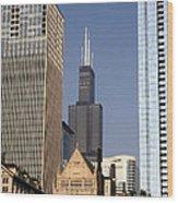 Sears Tower Wood Print