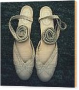 Shoes Wood Print by Joana Kruse