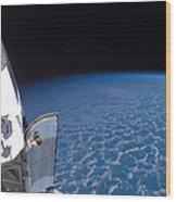 Space Shuttle Endeavour Wood Print