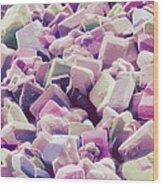 Sugar Crystals, Sem Wood Print