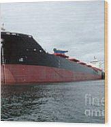 Tanker Ship  Wood Print
