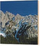 Tatra Mountains Winter Scenery Wood Print