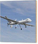 The Ikhana Unmanned Aircraft Wood Print