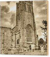 The Priory Wood Print