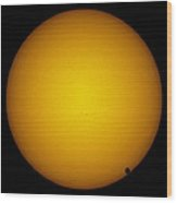 Transit Of Venus, 8th June 2004 Wood Print