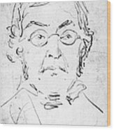 William M. Thackeray Wood Print