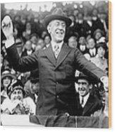 Woodrow Wilson (1856-1924) Wood Print