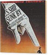 World War II: U.s. Poster Wood Print