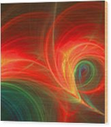 312 Wood Print