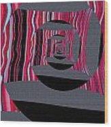 Twirling Wood Print
