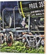 35530train Wood Print