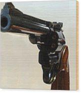 357 Mag Wood Print