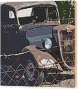 '36 Ford Wood Print