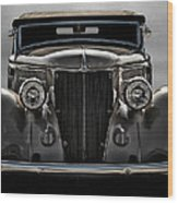 '36 Ford Convertible Coupe Wood Print