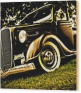 37 Ford Pickup Wood Print by Phil 'motography' Clark