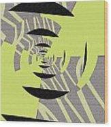 Decoupage Wood Print