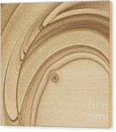 Art Abstract Wood Print by Odon Czintos