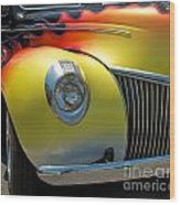39 Ford Deluxe Hot Rod 3 Wood Print
